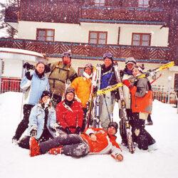 Ski- und Snowboardgaudi 2003 in Kleinarl