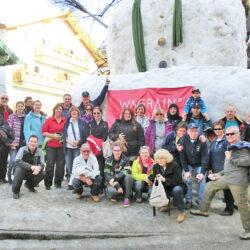 Clubfahrt im März 2013 nach Wagrain